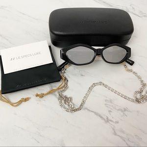 Le Specs Luxe • Petit Panthere Sunglasses